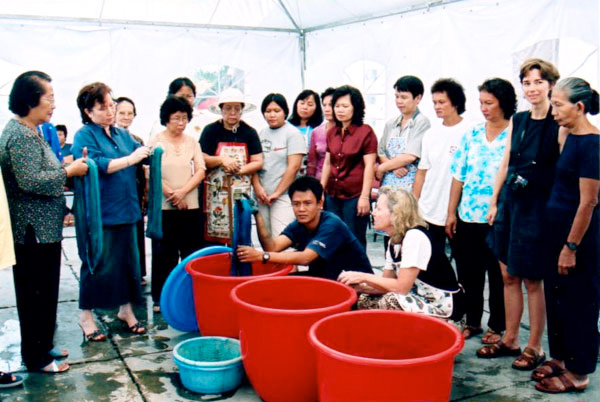 Indigo Dye Workshop (1-3 September, 2004)