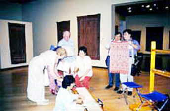 Ties That Bind: An Exhibition of Iban Ikat Fabrics, Muscarelle Museum Art, College of William and Mary, Williamburg, Virginia USA (11th July-16th August 1998)